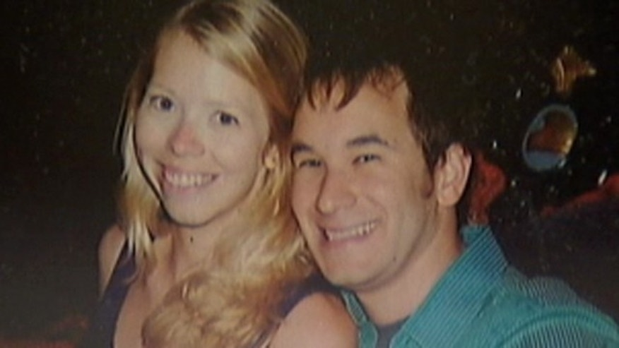 Eleanor Halgren and David Laduzenski, who was killed by an alleged drunk driver during a trip to buy Halgren an engagement ring.