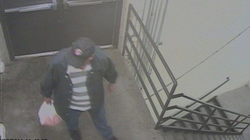 "One of two images released of the ""person of interest"" on surveillance video (kdvr.com)"