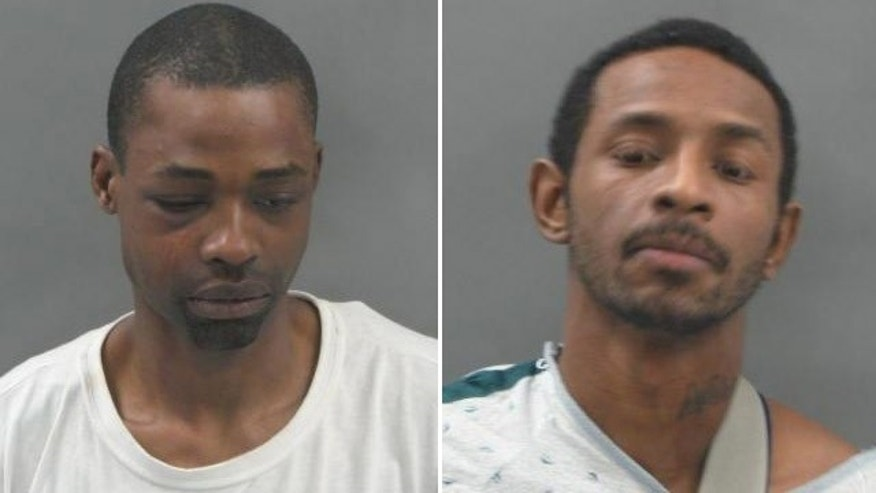 Inmates Vernon Collins, left, and David White, right, escaped from the St. Louis City Justice Center early Friday morning, authorities said.