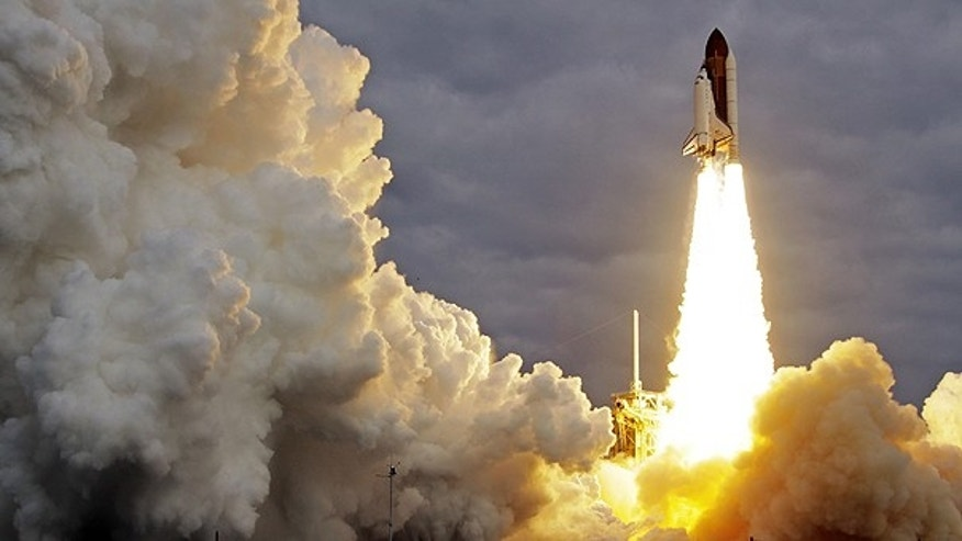 May 16: The space shuttle Endeavour lifts off from Kennedy Space Center in Cape Canaveral, Fla.