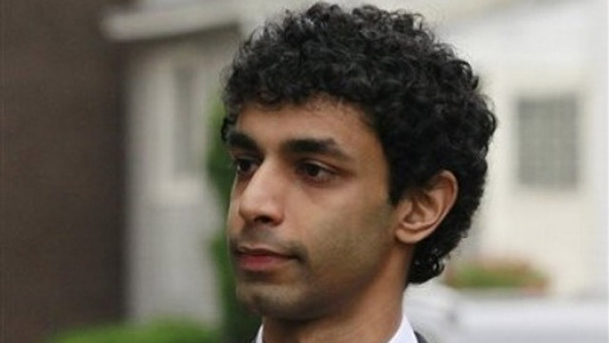 Dharun Ravi, pictured above, could get up to 10 years for each of two second-degree bias intimidation charges in a case that became renowned because his roommate, Tyler Clementi, committed suicide days after the spying.