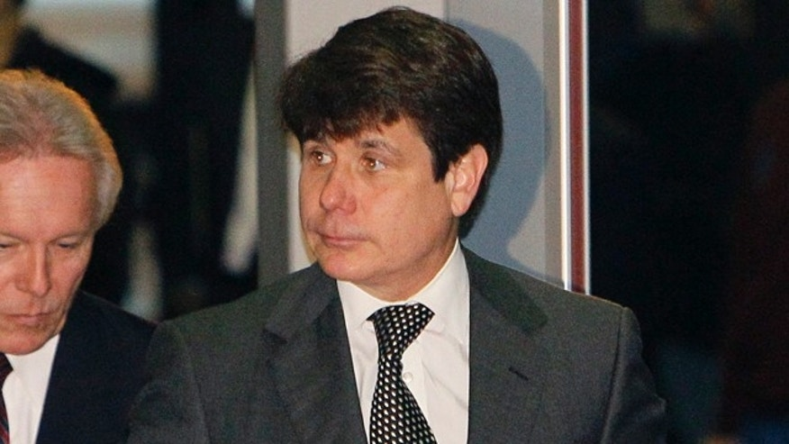 May 25: Former Illinois Gov. Rod Blagojevich arrives at the Federal Court building for his federal corruption trial Wednesday in Chicago.