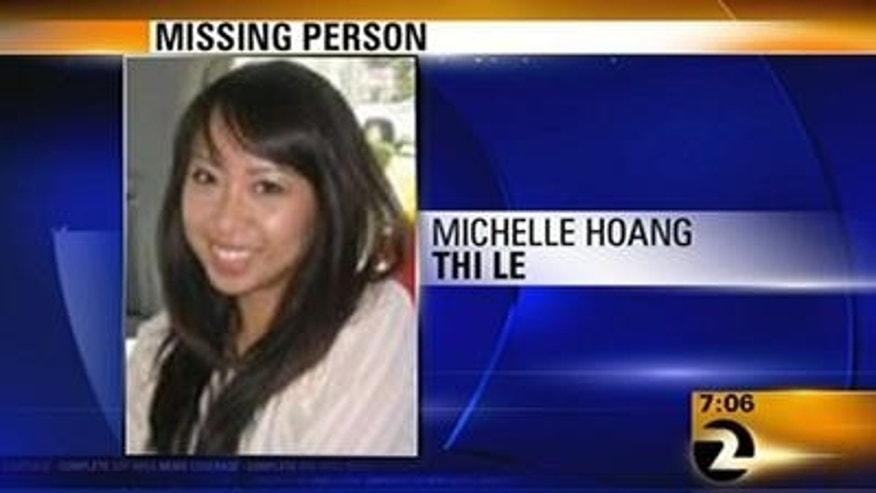 Michelle Hoang Thi Le, 26, was last seen Friday at the Kaiser Permanente Hayward Medical Center in Hayward, Calif.