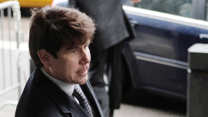 May 26: Former Illinois Gov. Rod Blagojevich, arrives at federal court before taking the stand in his second corruption trial in Chicago.