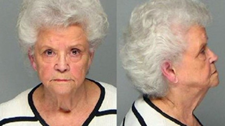 Betty Neumar, seen in this 2008 booking photo, has died while charges were pending against her in the death of her four husband. She had raised suspicion of authorities because all her five husbands had died before her.