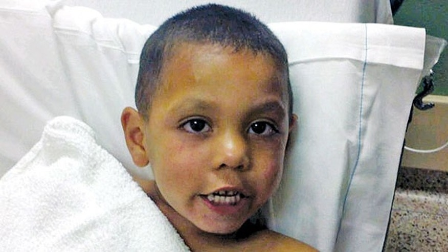 This undated photo provided by the Sweetwater (Texas) Police Department shows 4-year-old Angel Flores. Flores was found standing in the middle of Interstate 20 near Sweetwater early Tuesday, June 28, 2011. The boy's father, Carlos Rico, is in jail in Saginaw after being charged with endangering a child for reportedly abandoning the boy on the interstate.