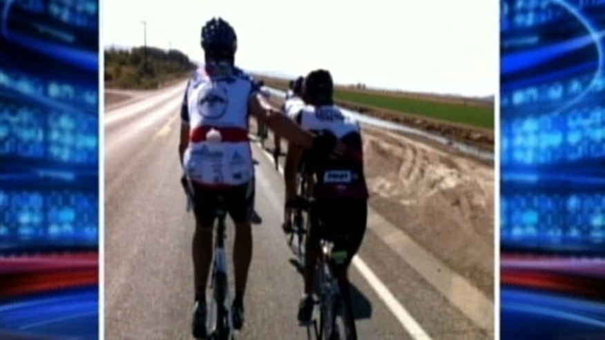 430-mile bike ride from Scottsdale, Ariz., to San Diego, Calif., raises money for injured Marines and their families.