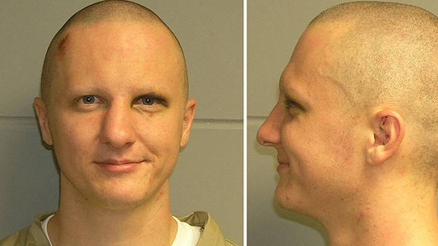 Feb. 22: This combination of photos of Jared Loughner was released by the U.S. Marshal's Service. The photo was taken in Phoenix while Loughner was in the agency's custody.
