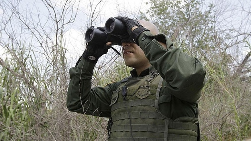 June 8: U.S. Customs and Border Patrol agent Sanchez patrols along the Rio Grande in Penitas, Texas. Between October 2009 and March 2011, U.S. Border Patrol detained at least 2,600 illegal immigrants from India, a dramatic spike considering apprehensions of Indian border-jumpers had historically hovered between 150 and 300 per year.