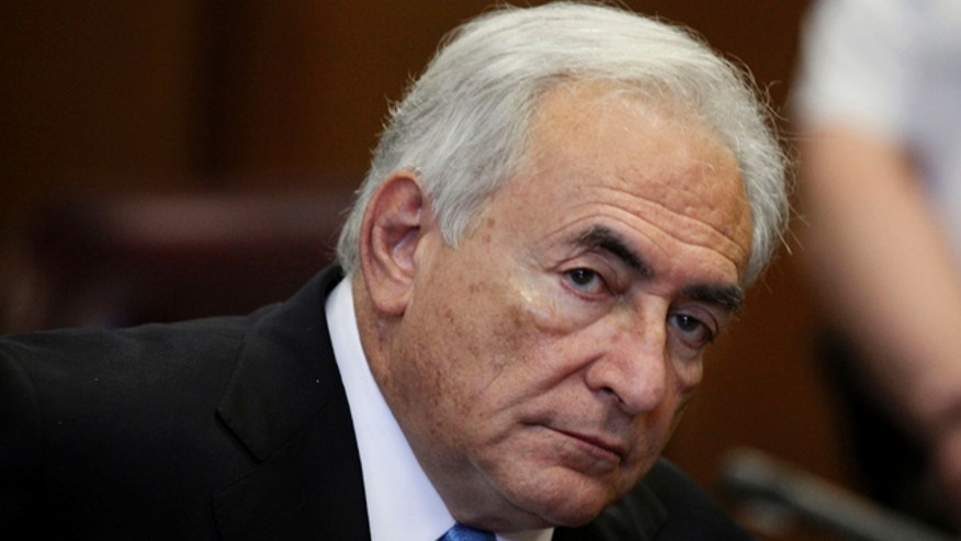 July 1, 2012: Former International Monetary Fund leader Dominique Strauss-Kahn listens to proceedings in New York State Supreme court in New York.