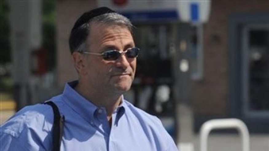 June 2010: Former Washington lobbyist Jack Abramoff arrives for work at Tov Pizza, a kosher pizzeria in Baltimore.