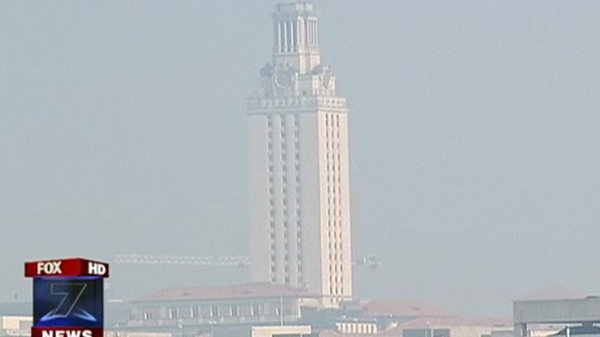 Sept. 8: Smoke could be seen Thursday morning over Austin, Texas.