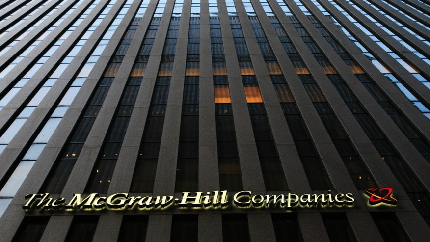 July 13, 2009: The McGraw-Hill Cos. offices in New York. McGraw-Hill Cos., which has been reviewing its businesses, will split up into two companies with one focused on education and the other on capital and commodities markets.
