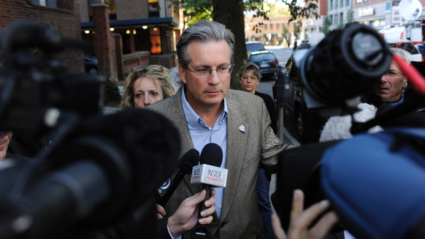 September 19: Dr. William Petit Jr. arrives at Superior Court for the first day of the trial of Joshua Komisarjevsky in New Haven, Connecticut. Petit is the sole survivor of the 2007 Cheshire, Conn., home invasion where his wife, Jennifer Hawke-Petit and their daughters, Hayley and Michaela, were murdered.