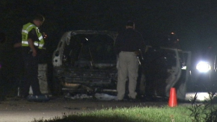 A father and two children were seriously injured when an apparent car bomb exploded in Monroe, Mich., on Tuesday.