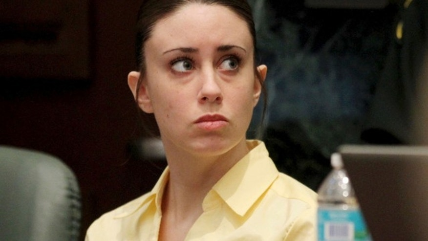 July 3, 2011: Casey Anthony sits in the courtroom before closing arguments begin in her murder trial in Orlando, Fla. (AP)