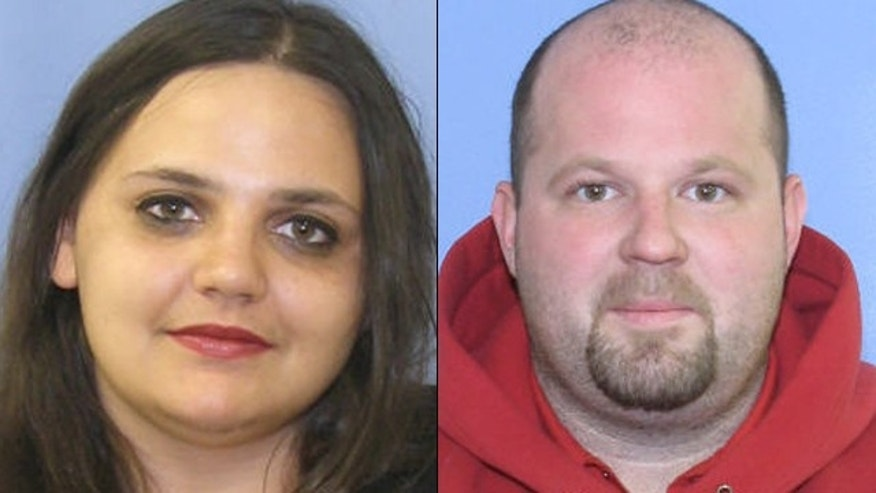 Lori Gardner, 26, and stepfather Brian Sleboda, 31, both of Scranton