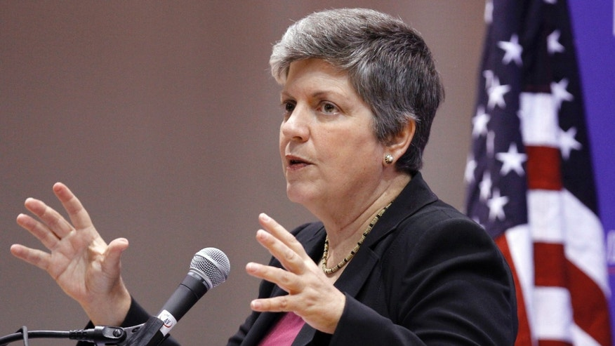 October 5: Homeland Security Secretary Janet Napolitano, gestures while discussing the department's enforcement of immigration laws at American University in Washington.