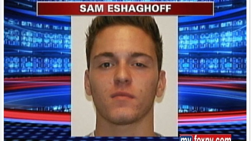 Photo of Sam Eshaghoff, who is facing charges he was paid to impersonate high school students and take the SAT exam for them.