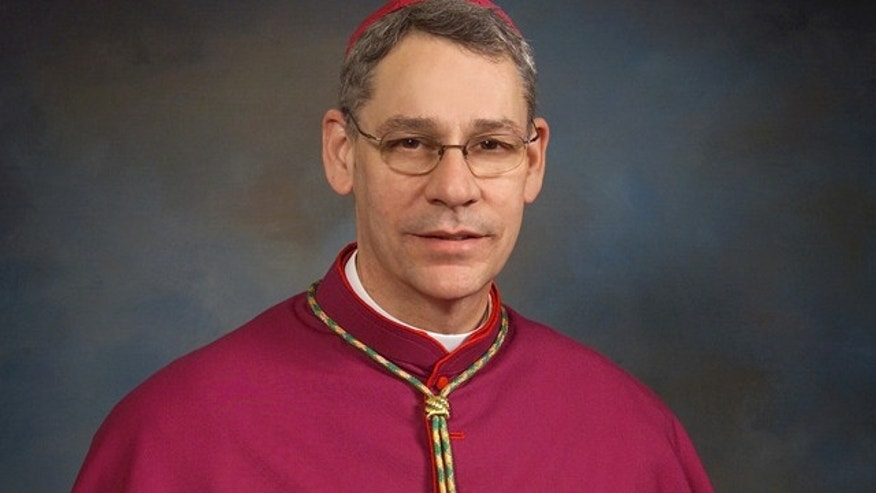May 3, 2004: The Rev. Monsignor Robert Finn is the bishop of the Roman Catholic Archdiocese of Kansas City and St. Joseph, Mo.