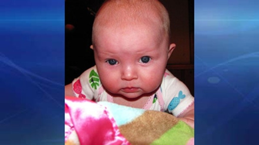 This image, provided by Fox affiliate WDAF-TV, shows 10-month-old Lisa Irwin.