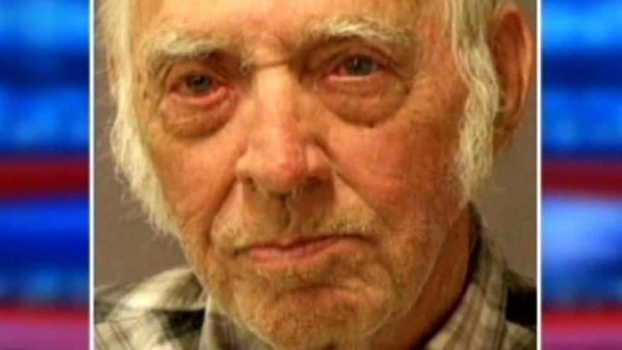 Leo Sharp, 87, was arrested after police found 104 brick-shaped packages of cocaine in his car.