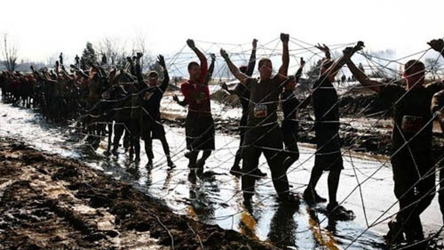 Tough Mudder competition 2011.
