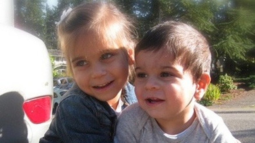 In this undated family photo provided by the Bellevue Police Department, Friday, Nov. 18, 2011, two-year-old Sky Metawala, right, is shown with his sister, Maile Metalwala, left. After nearly two weeks of searching, police said Friday they are still stymied in their search for the boy, who has been missing since Nov. 6, 2011.