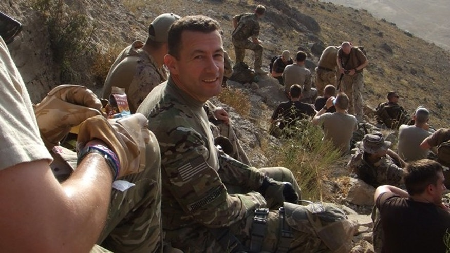 Roughsedge, who worked as an adjunct professor at Suffolk University, has been serving in Afghanistan since last December. He is expected to return home next month.