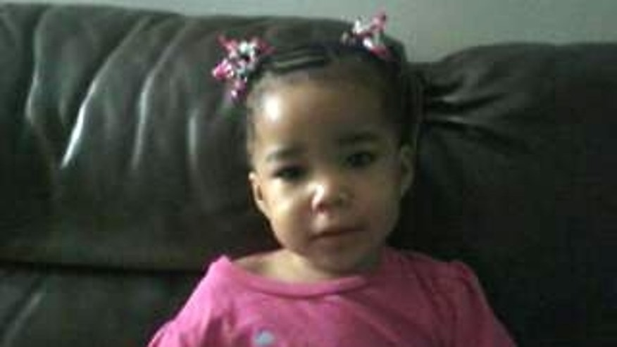 This image provided by Michigan Amber Alert via The Detroit News shows Bianca Jones, 2 years old. Detroit's police chief says investigators are questioning the truth of a story that Bianca Jones was kidnapped during a carjacking.