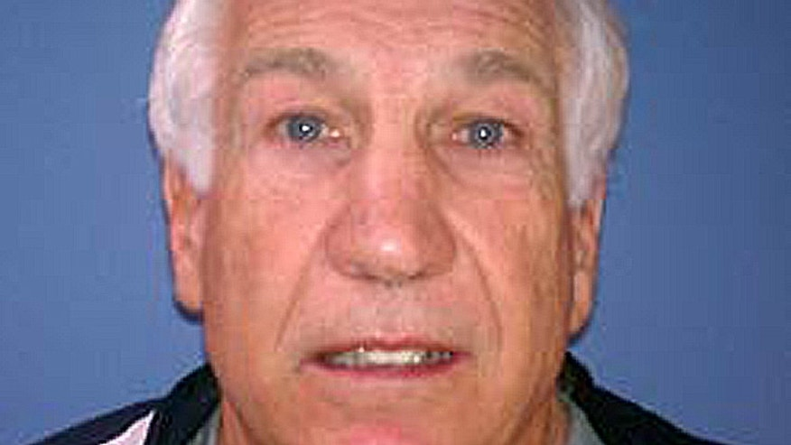 December 6, 2011: Booking photo of Jerry Sandusky provided by the Pennsylvania Attorney General's office.