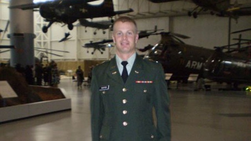 Chief Warrant Officer Lucas Daniel Sigfrid, a native of Alabama, is seen in an undated photo provided by the U.S. Army. Sigfrid is one of four Army aviators killed Monday, Dec. 12, 2011 when two helicopters crashed during training at a Washington state base.