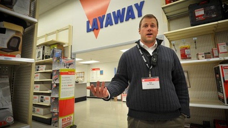 December 15, 2011: Kmart store manager Ted Straub talks in his Omaha, Neb store.