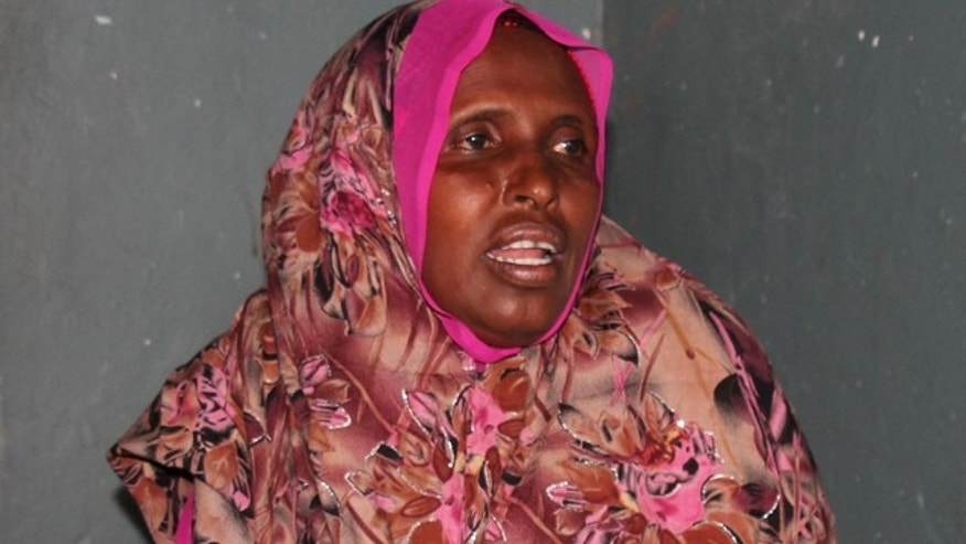 Dec. 18: Nasro Mohamed speaks during an interview in the Somali capital, Mogadishu . She said the decision to end the Somali remittances in the U.S. is a 'painful' one  that will ruin the daily life of many Somali people who were dependent on the remittances.