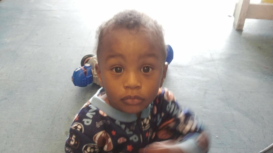 Nov. 25, 2011 photo provided by the Columbia S.C., Police Dept., 18-month-old Amir Jennings is shown near Columbia, S.C.