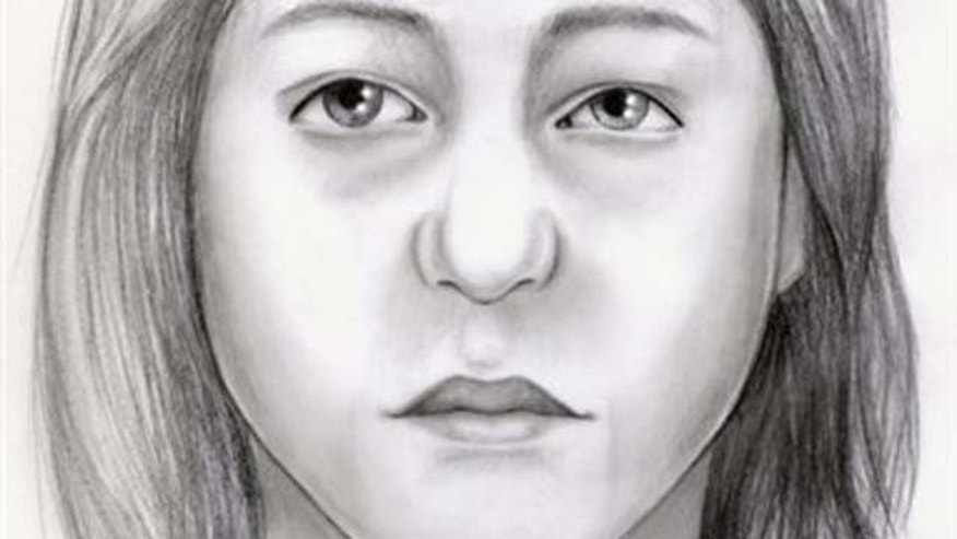 January 7, 2011: In this artist's rendering provided by the Suffolk County Police Department, a composite sketch of a third unidentified victim in the investigation of the remains discovered off Ocean Parkway in Nassau County.