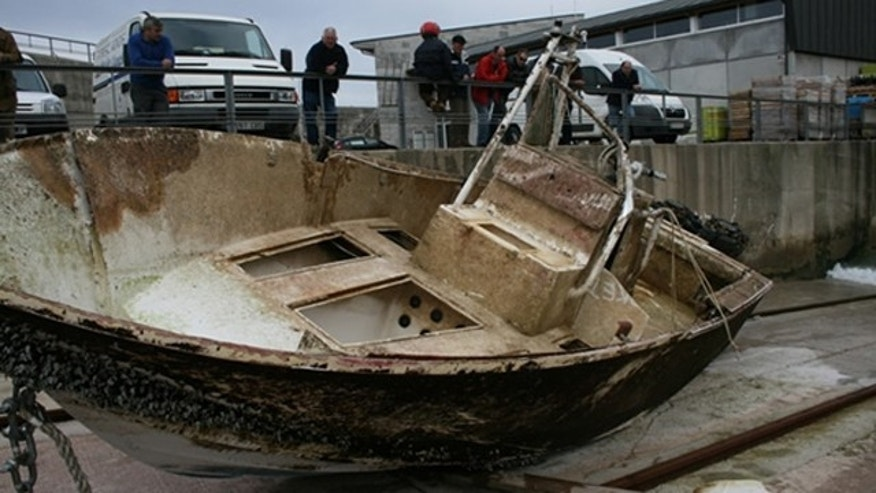 The Nantucket fishing boat that floated away in August 2008 was discovered drifting off the coast of Spain.