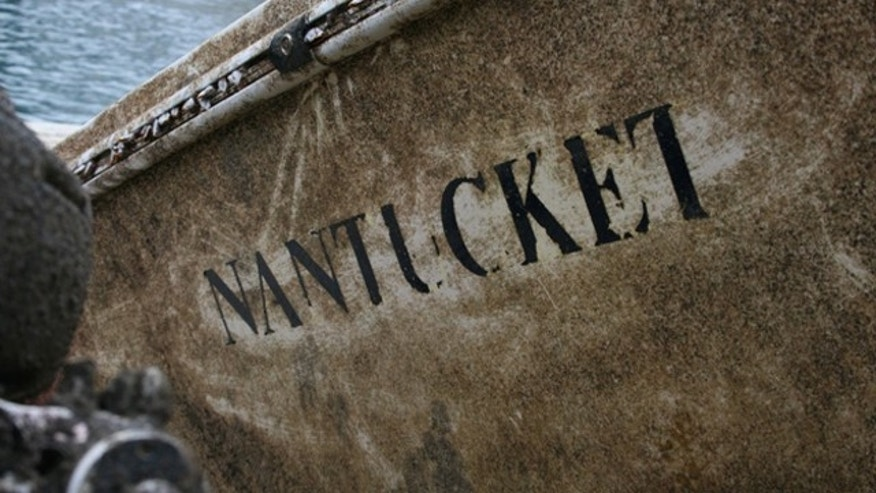 The word 'Nantucket' remains written on the side of the ship found in northern Spain.
