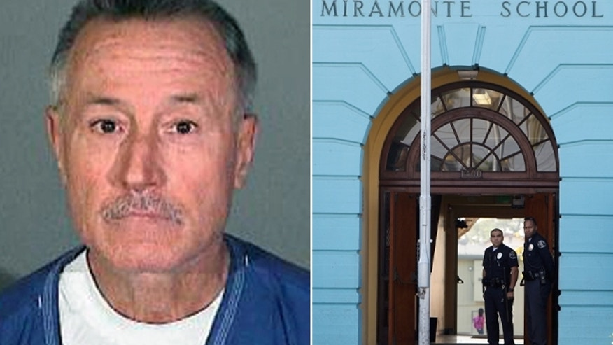 Former Los Angeles teacher Mark Berndt, 61, is accused of committing lewd acts against 23 students at Miramonte Elementary School.