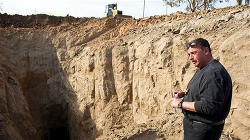 Feb. 12: San Joaquin Sheriff detective M.L. Jones talks about the search and recovery of human remains near a well on an abandoned cattle ranch near Linden, Calif.