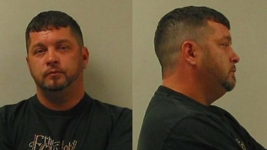 These undated photos released by the Brownstown Township Michigan Police show Shawn Weimer, a Detroit-area man who allowed his 9-year-old daughter to drive him around because he had been drinking.