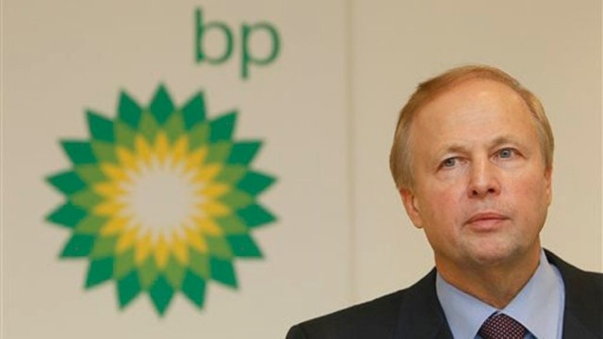 BP PLC's CEO Bob Dudley during a results media conference at their headquarters in London, Tuesday, Feb. 1, 2011. BP announced Tuesday it is resuming dividend payouts for the first time since the Gulf of Mexico well disaster, despite suffering its first full-year loss since 1992, and plans to sell off almost half of its U.S. refinery business. BP said a stronger-than-expected end to 2010, in which high oil prices lifted fourth quarter profit by 30 percent, was not enough to avoid a full-year loss of $3.7 billion. It raised to $40.9 billion its estimate for the overall cost of the spill, the charge covering the cost of the explosion aboard the Deepwater Horizon rig, which killed 11 workers in April, as well as plugging the well and cleaning up the southern U.S. coast.