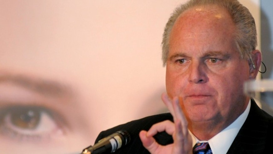 Rush Limbaugh draws fire from many directions for his depiction of a college student.