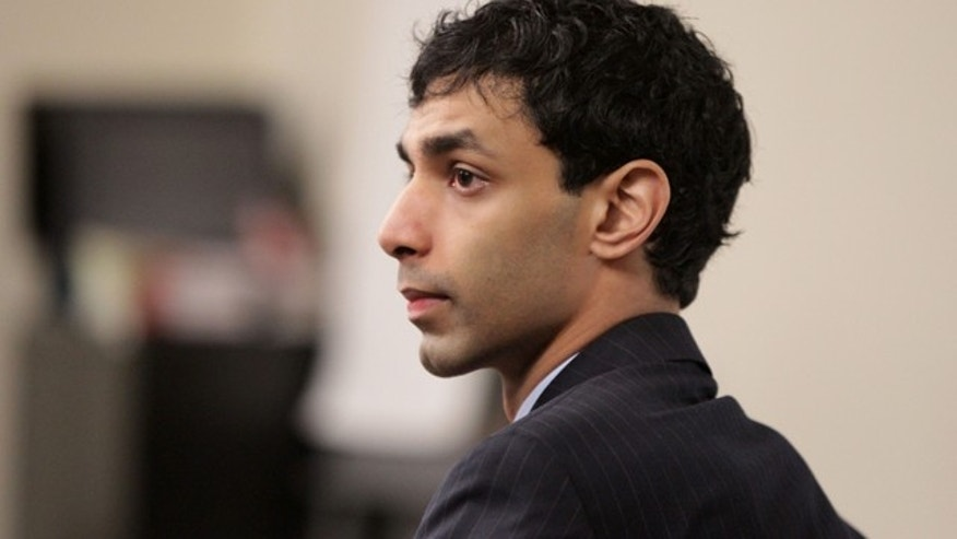 March 5: Dharun Ravi sits in the courtroom during his trial at the Middlesex County Courthouse in New Brunswick, N.J.