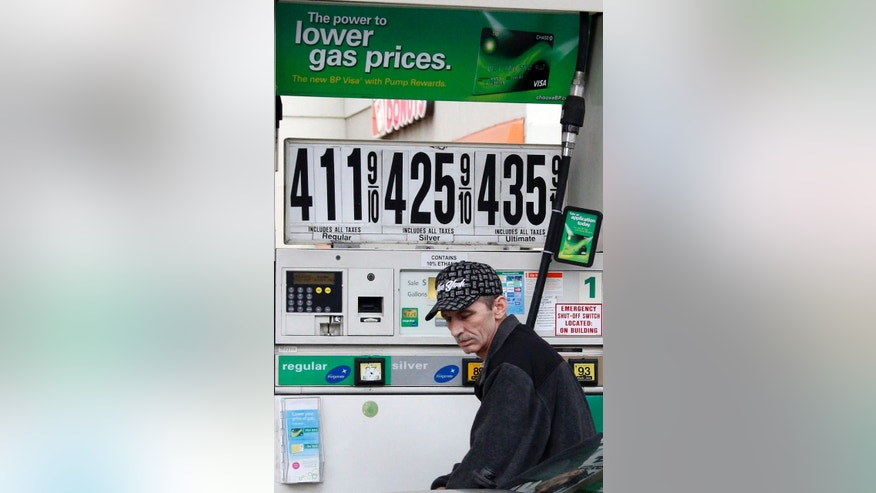 March 2: Al Milani of Staten Island, pumps gas in Manhattan at a BP mini-mart. The price at the gas pump rose over the weekend and the nationwide average is nearing $3.80 a gallon. Oil is close to $107 per barrel because of tensions tied to Iran's nuclear program.