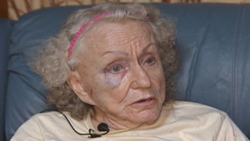 This undated photo shows Peggy Gunder, 91, who was allegedly attacked during a home invasion.