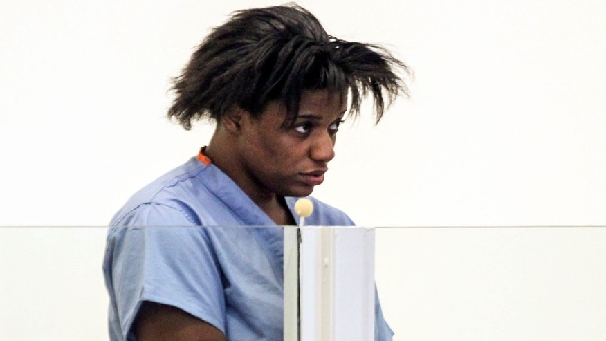 March 19: Tanicia Goodwin is arraigned in Salem District Court on 2 counts of armed assault with intent to murder, 2 counts of assault and battery with a dangerous weapon and 1 count of arson in Salem, Mass.