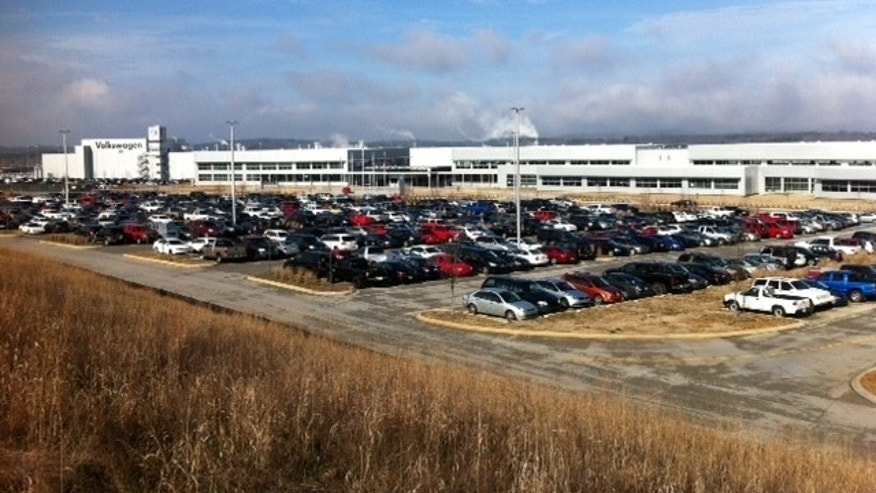 March 2012: Volswagon plant in Chattanooga, Tenn., planning to hire an additional 800 workers.