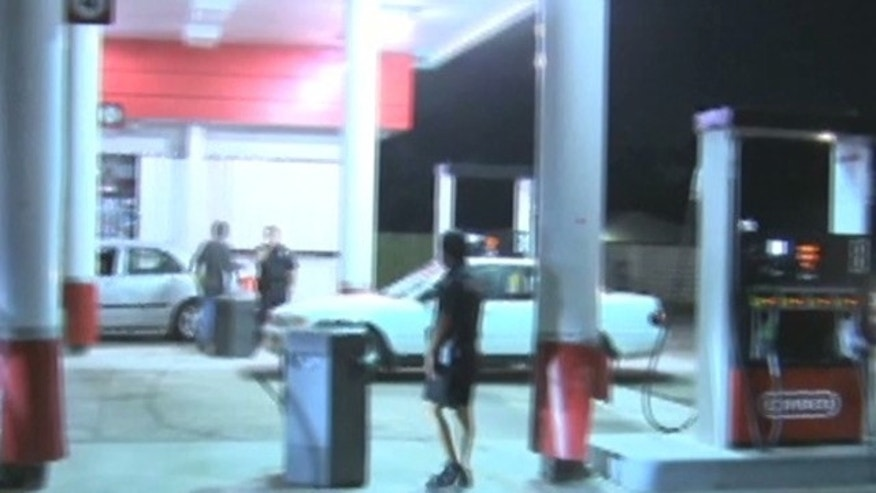 Drivers at the Pasadena station, who were shocked at the low price, reportedly called family and friends to take advantage of the super-low prices