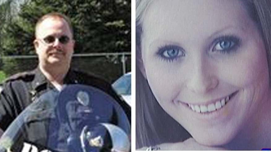 FILE: This photo shows Police Chief Michael Maloney and Brittany Tibbets.
